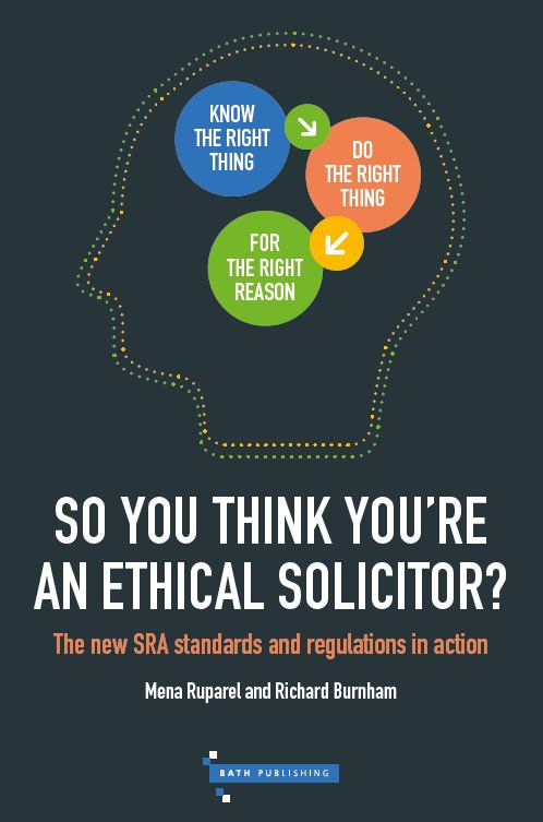 cover of So You Think You're An Ethical Solicitor?